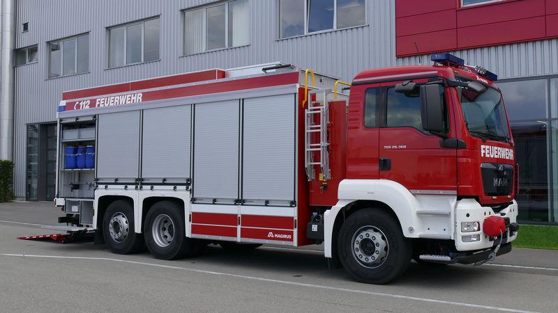 Hazmat Rescue Vehicle For Plant Fd Merck