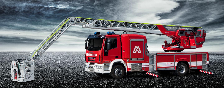 Magirus turntable ladders: Innovation & experience since 1864