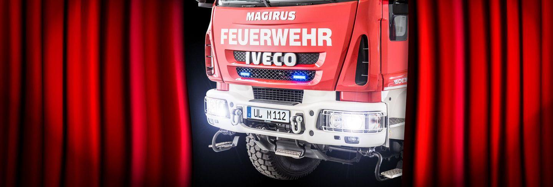 Deliveries & firefighting vehicle handovers of Magirus